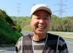 収穫管理の横山さん 「今日も元気に頑張りマッシュ!」